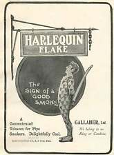 1905 Harlequin Flake Concentrated Tobacco For Pipes Gallaher Ltd
