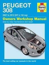 Peugeot 308 Repair Manual Haynes Manual  Workshop Service Manual  2007-2012 5561