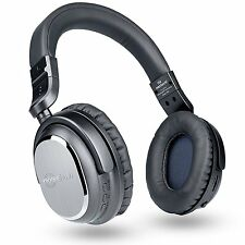 Naztech i9 Wireless Active Noise Cancelling Headphones with In-line Mic NEW