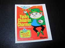 "RON ENGLISH POPAGANDA Cereal Yucky Charm 2.5"" Sticker decal frm poster art print"