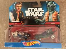 Hot Wheels Star Wars Han Solo Vs Greedo