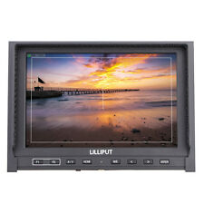 "Lilliput 339 7"" LCD IPS 1280×800 1080p Camera Field Top Monitor HDMI W/Battery"