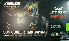 ASUS STRIX Gaming GEFORCE GTX 980Ti Graphics Card 6GB GDDR5
