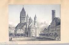Köln - Bleistiftzeichnung um 1840