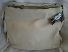CROMIA WINTER WHITE LEATHER SATCHEL HANDBAG NEW WITH TAG   MINT