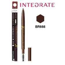 [SHISEIDO INTEGRATE] BR666 NATURAL BROWN Micro Slim Eyebrow Pencil Liner NEW