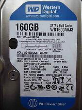 160 GB WD WD1600AAJS-00L7A0 / DHRNHTJAEN / JUL 2009 / 2060-701590-000 REV A