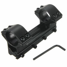 """Double ring 1""""/25.4mm haut profil sight scope mount support support pour rail 20mm"""