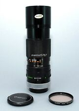 CANON FD 100-200mm f5.6 S.C. MANUAL FOCUS LENS! 90-DAY WARRANTY! EXCELLENT PLUS!