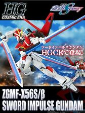 BANDAI HGCE 1/144 Sword Impulse Gundam Plastic Model Kit Japan Premium