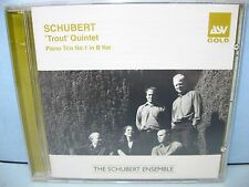 "Schubert ""TROUT"" QUINTET, PIANO TRIO The Schubert Ensemble ASV-Gold"