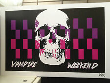 "Vampire Weekend 17""x26"" band poster print"