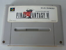 Super Famicom Final Fantasy VI FF 6 Japan SFC