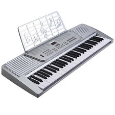 New 61 Key digital Electronic Music Keyboard Electric Piano Organ White