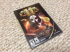 STAR WARS New & Sealed PC Knights of the Old Republic 2 II -The Sith Lords 2005