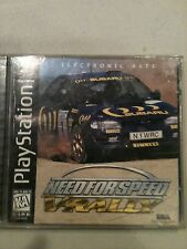 NEED FOR SPEED  V-RALLY  (Sony PlayStation 1, 1997)