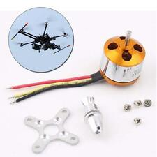 2016 A2212 KV2200 Brushless Outrunner Motor For Airplane Quadcopter RC Quad WT