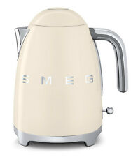 Smeg kettle, 50's Retro style Cream Smeg KLF01