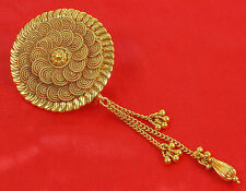 HP-73 Bollywood Hair & Head Jewelry Gold Tone Bun Pin Indian Hair Accessories
