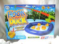 Nuevo juego de Pato de gancho que caña de pescar Inflable Pato estanque 5 patos Grafix gameshub