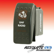*UHF Radio* Rocker Switch Red - ARB Carling LED Landcruiser Patrol