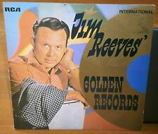 JIM REEVES GOLDEN RECORDS INTS-1070 1969 RCA RECORDS VINYL ALBUM LP RECORD