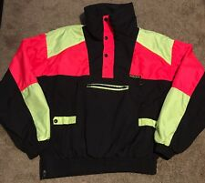 Vintage Sun Ice Snowboarding Jacket M/L 90s Neon Cold Weather Ski Fashion Snow