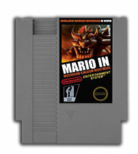 Mario in Mushroom Kingdom Nightmare - Nintendo NES Game