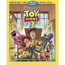 Toy Story 3  DVD Blu-ray Tom Hanks, Tim Allen, Joan Cusack, Ned Beatty, Don Rick