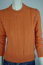 Damen Pullover OVP orange NOS Gr S True VINTAGE 80er ALTLAGERBESTAND 80s sweater