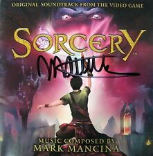 SORCERY Game SOUNDTRACK Score CD Autographed by MARK MANCINA Mint OOP Signed!
