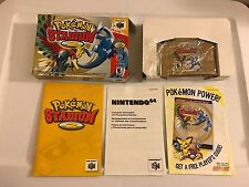 POKEMON STADIUM II 2 - MINT - Nintendo 64 N64 - Complete In Box w/ manual CIB