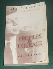 PROFILES IN COURAGE by John F. Kennedy JFK 2000 softcover PULITZER PRIZE WINNER