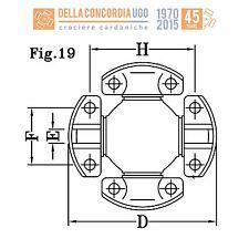 CROCIERA CARDANICA 107,92x36,52x87,32x9,50 108M40 (4C) - CR 603