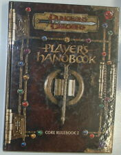 PLAYER'S HANDBOOK DUNGEONS DRAGONS CORE RULE BOOK I DD 3.0