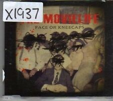 (CK555) The Movielife, Face or Kneecaps - 2003 CD