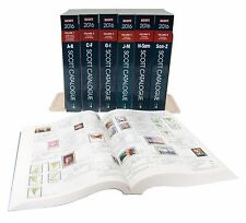2016 Scott Standard Postage Stamp Catalogue Set - Volume 1-6