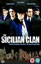 The Sicilian Clan NEW PAL DVD Gabin Delon Ventura