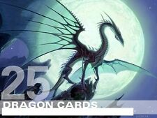MTG Dragon Lot - 25  RARE / FOIL Cards - Magic Lot Set Collection EDH