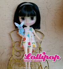 Factory Type Neo Blythe Doll  Black Hair, Jointed, Outfit, Accessory
