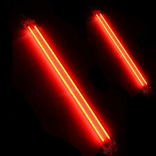 "6"" + 12"" Car Red Undercar Underbody Neon Kit Lights CCFL Cold Cathode Tube"
