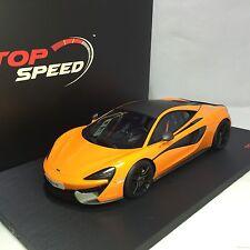 1/18 TSM Top Speed McLaren 570S McLaren Orange Resin #TS0003