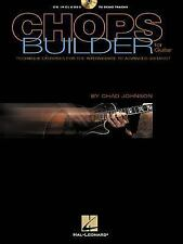 Chops Builder for Guitar :Technique Exercise  Intermediate Advanced  MIssing CD!