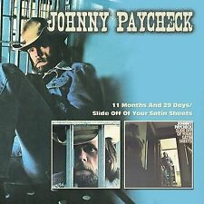 11 Months and 29 Days:slide Off of Y - Johnny Paycheck Compact Disc