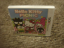 Hello Kitty Picnic With Sanrio Friends  (Nintendo 3DS, 2012)