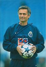 Jose MOURINHO Signed Autograph Photo AFTAL COA FC Porto The Special One Genuine