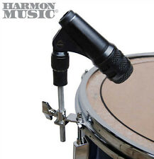 Mic Holder Drum Hoop Rim Snare or Tom Mount Rubber Shock Mount Microphone Clip
