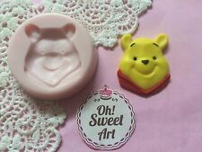Winnie the pooh face silicone mold fondant cake decorating APPROVED FOR FOOD