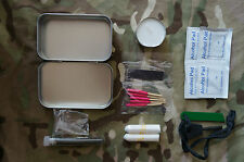 Fire Starting Kit Scouts EDC Hiking Survival Bushcraft Bug Out Military