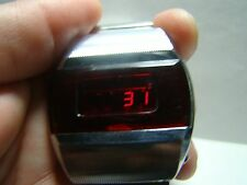 ELEKTRONIKA 1 FIRST SOVIET USSR DIGITAL RED LED WATCH
